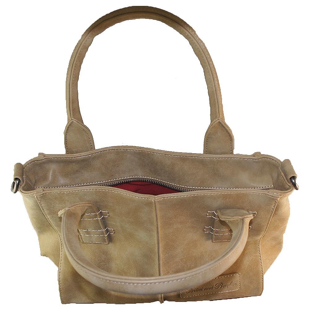 fritzi aus preu en handtasche caro sand taschen handtaschen fritzi aus preu en. Black Bedroom Furniture Sets. Home Design Ideas