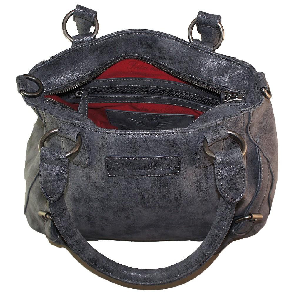 fritzi aus preu en handtasche elvira jeans taschen handtaschen. Black Bedroom Furniture Sets. Home Design Ideas