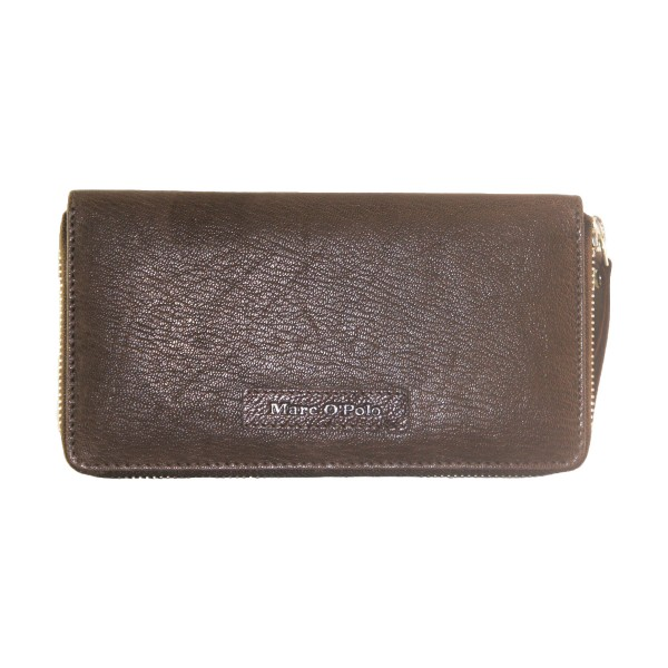 Marc O'Polo - Shania Ladies Zipper Wallet - dark brown