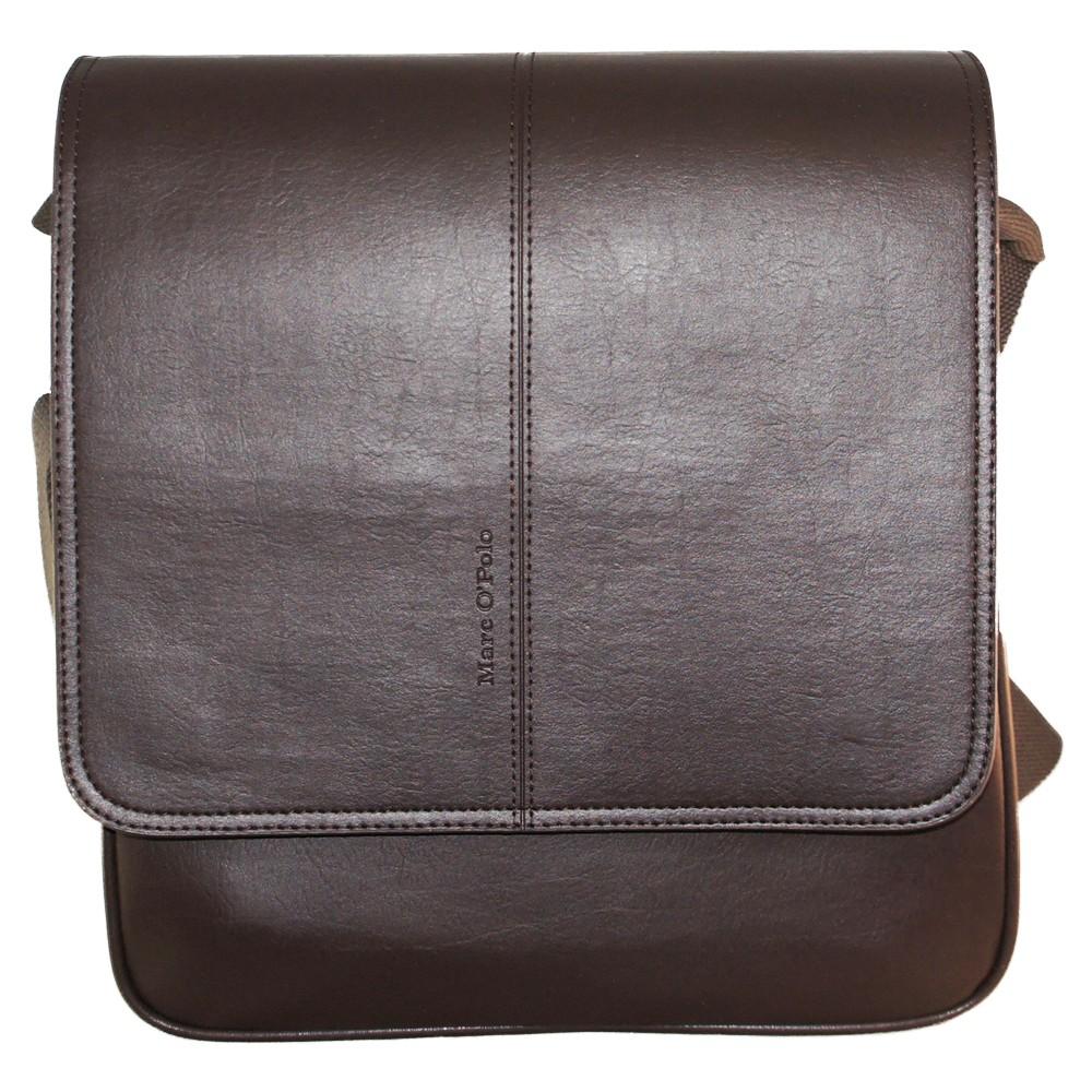 Larsson Postbag - dark brown