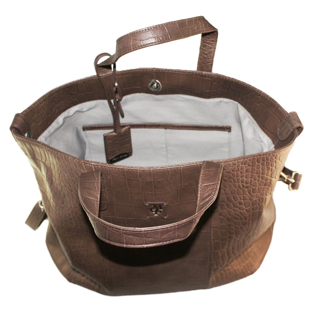 marc o 39 polo darcey handbag dark brown taschen. Black Bedroom Furniture Sets. Home Design Ideas
